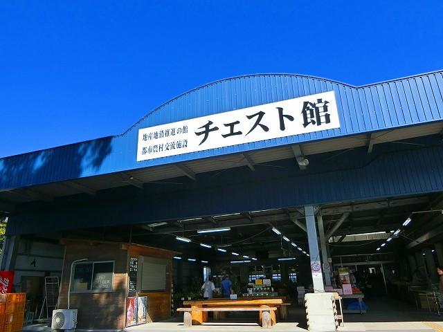 チェスト館は日置市の物産館です。