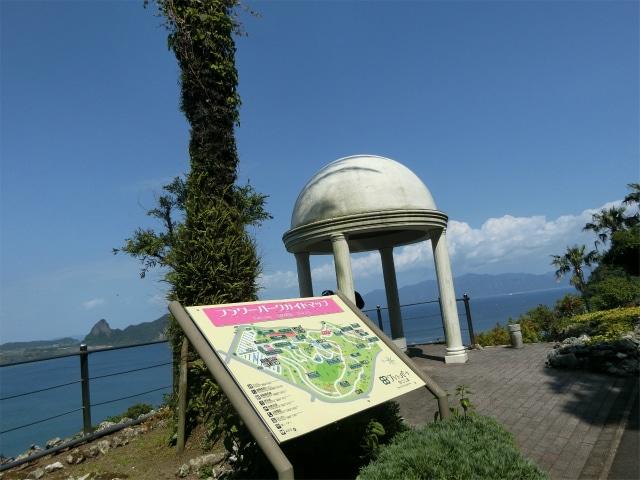 フラワーパーク鹿児島の展望台です。