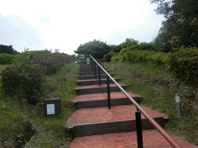 茶寿階段の108段目の頂上が見えてきました。