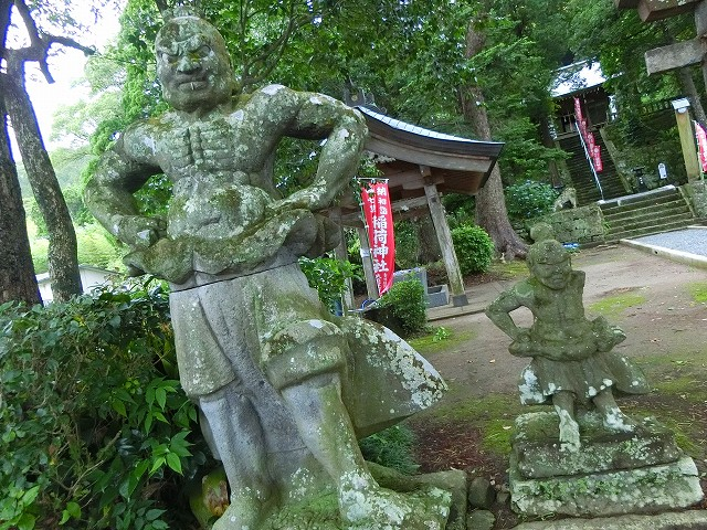 親子の仁王像は鹿児島ではここだけかも。