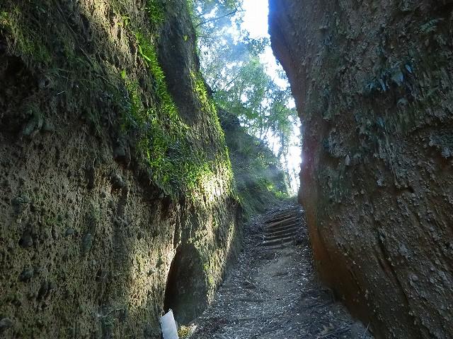 薩摩川内市の入来にある清色城跡です。