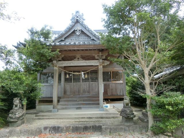 瀬之浦の伊勢神社はお仮屋跡です。