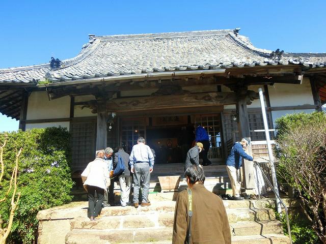 グランドマスターの方と泰平寺に参拝しました。