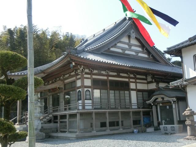 薩摩川内市にある福昌禅寺の本堂です。