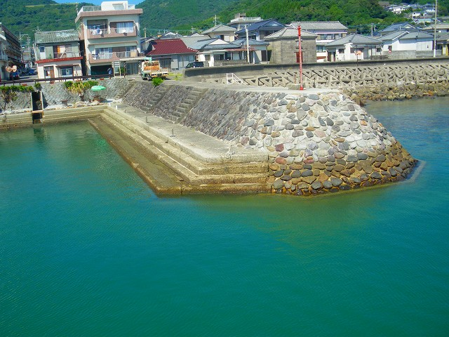 薩摩藩英国留学生達が逗留し旅だった羽島の町です。