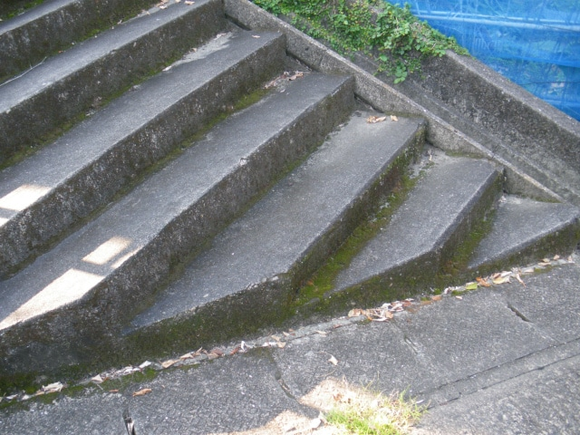 郷土菓子のげたんはに似たげたんは階段です。