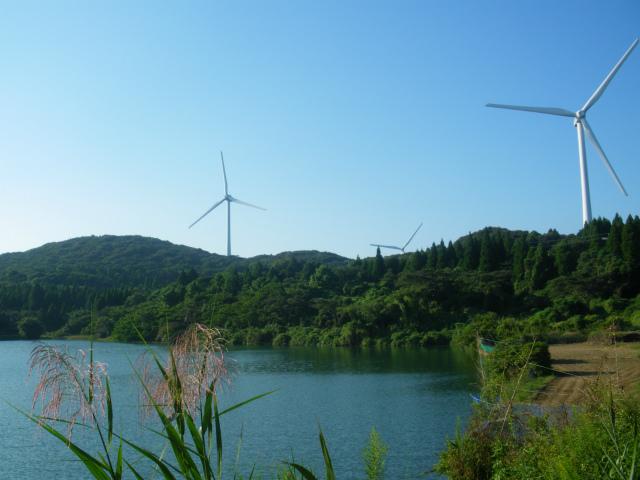 萬福池は今でも地元の灌漑に役立っています。